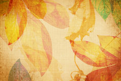 Het canvas van de zomer grunge Stock Afbeelding