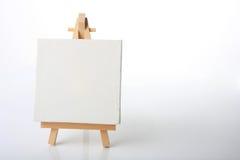Het canvas van kunstenaars Stock Foto