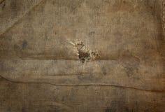 Het canvasachtergrond van Grunge Royalty-vrije Stock Afbeelding