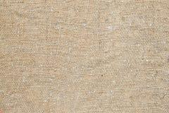 Het canvasstof van de textuur als achtergrond Stock Afbeeldingen