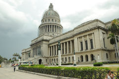 Het Capitolio-gebouw in Havana, Cuba Royalty-vrije Stock Fotografie