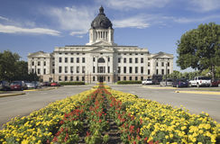 Het Capitool Staat van de Zuid- van Dakota Royalty-vrije Stock Foto's