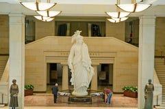 Het Capitool van de het standbeeldV.S. van de vrijheid Royalty-vrije Stock Foto's