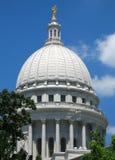 Het Capitool van de staat in Madison, Wisconsin Stock Afbeelding