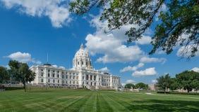 Het Capitool van de Staat van Minnesota royalty-vrije stock foto