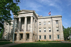 Het Capitool van de staat, Raleigh Stock Foto