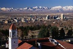 Het Capitool van de staat in Salt Lake City, UT Royalty-vrije Stock Afbeelding