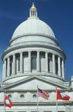 Het Capitool van de staat van Arkansas stock foto's