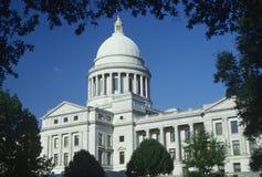 Het Capitool van de staat van Arkansas, stock afbeeldingen
