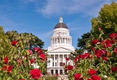 Het Capitool van de Staat van Californië Stock Foto's