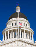 Het Capitool van de Staat van Californië Stock Afbeelding