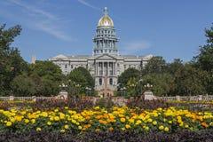 Het Capitool van de Staat van Colorado stock fotografie