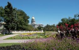 Het Capitool van de Staat van Colorado in Denver Stock Foto's