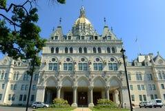 Het Capitool van de Staat van Connecticut, Hartford, CT, de V.S. Stock Afbeelding