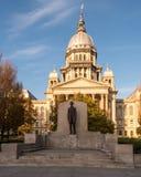 Het Capitool van de Staat van Illinois Stock Foto's