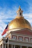 Het Capitool van de Staat van Massachusetts Royalty-vrije Stock Afbeeldingen