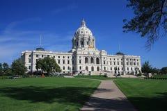 Het Capitool van de Staat van Minnesota Stock Afbeelding