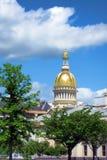 Het Capitool van de Staat van New Jersey in Trenton stock afbeeldingen