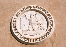 Het Capitool van de staat van New Mexico, Santa Fe Stock Afbeelding