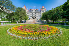 Het Capitool van de Staat van New York Stock Foto's