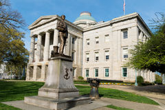Het Capitool van de Staat van Noord-Carolina stock foto