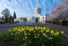 Het Capitool van de Staat van Oregon, Salem Stock Fotografie