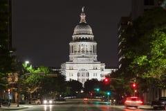 Het Capitool van de Staat van Texas in Austin stock afbeelding