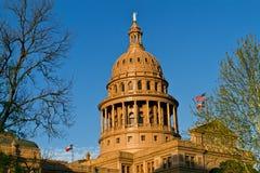 Het Capitool van de Staat van Texas bij Zonsondergang Stock Fotografie