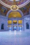 Het Capitool van de Staat van Utah de Bouwbinnenland Stock Afbeeldingen