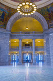 Het Capitool van de Staat van Utah de Bouwbinnenland Stock Afbeelding
