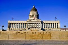 Het Capitool van de Staat van Utah, Salt Lake City Royalty-vrije Stock Fotografie