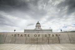 Het Capitool van de Staat van Utah, Salt Lake City Royalty-vrije Stock Afbeelding