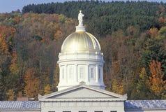 Het Capitool van de staat van Vermont Stock Afbeeldingen