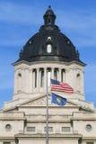 Het Capitool van de staat van Zuid-Dakota stock fotografie
