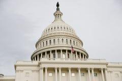 Het Capitool van de V.S., samenkomende plaats van de Senaat en het Huis van Afgevaardigden stock foto