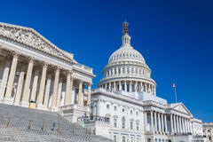 Het Capitool van de V.S., Washington DC Royalty-vrije Stock Foto's
