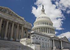 Het Capitool van de V.S., Washington DC in de zomer stock foto's