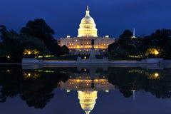 Het Capitool van de V.S. in Washington DClandschap stock afbeeldingen
