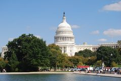 Het Capitool van het Washington DC Stock Foto