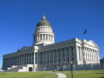 Het Capitool van Salt Lake City Royalty-vrije Stock Afbeelding