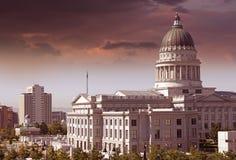 Het Capitool van Salt Lake City Stock Foto