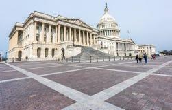 Het Capitool van Verenigde Staten op Capitol Hill stock foto's