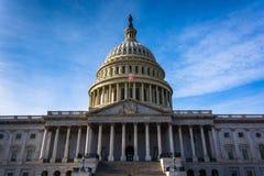 Het Capitool van Verenigde Staten, in Washington, gelijkstroom Stock Afbeelding