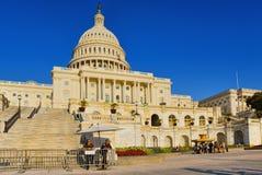 Het Capitool van Washington, de V.S., Verenigde Staten, vaak genoemd het Capitool royalty-vrije stock foto