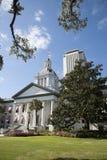 Het Capitoolgebouwen Florida de V.S. van de Tallahasseestaat stock foto's