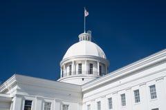 Het Capitoolkoepel van de Staat van Alabama stock afbeeldingen