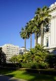 Het Capitoolpari en Mening van de Staat van Californië over de Stad Stock Foto's