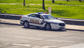 Het Capitoolpolitiewagen van Verenigde Staten - WASHINGTON DC - COLOMBIA - APRIL 7, 2017 Stock Afbeeldingen
