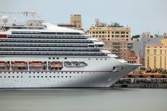 Het Caraïbische Schip van de Cruise royalty-vrije stock afbeeldingen