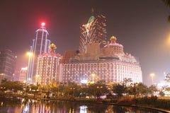 Het Casino Conner van Macao Stock Afbeelding